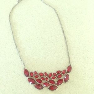Red Old Navy Collar Necklace